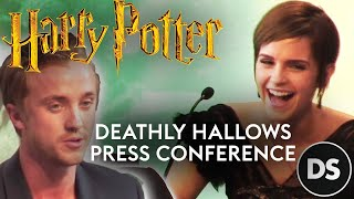 Том Фелтон, 'Harry Potter and the Deathly Hallows Part 2' Press Conference (3/3)