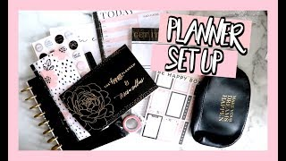 PLANNER SET UP | THE HAPPY PLANNER BOX
