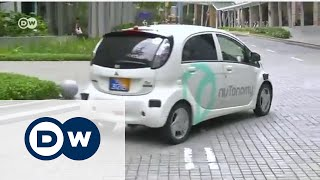 Gambar cover Sürücüsüz taksiler hizmete girdi - DW Türkçe