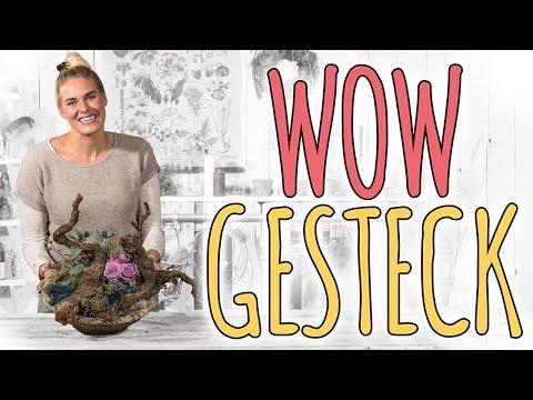 WOW GESTECK - MIT WURZEL IN TRENDFARBE 2017 - DIY