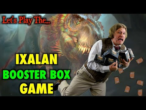 MTG – Let's Play The Ixalan Booster Box Game for Magic The Gathering (LAUNCH)