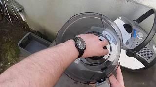 Bosch Staubsauger Filter wechseln Bosch BGS6ALL Bodenstaubsauger Roxx'x Hepafilter säubern Anleitung