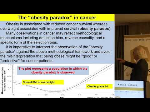 Renato Pasquali - The 'obesity paradox' in action with cancer immunotherapy