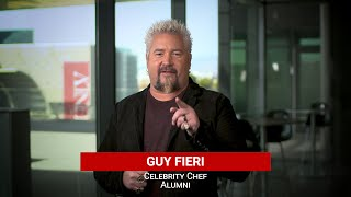 Welcome to UNLV Hospitality! A Message from Guy Fieri