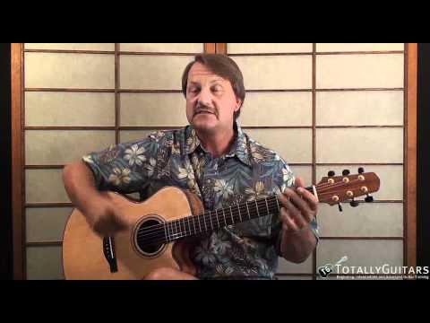 Acoustic Guitar Arrangement Lesson - Chord Solos