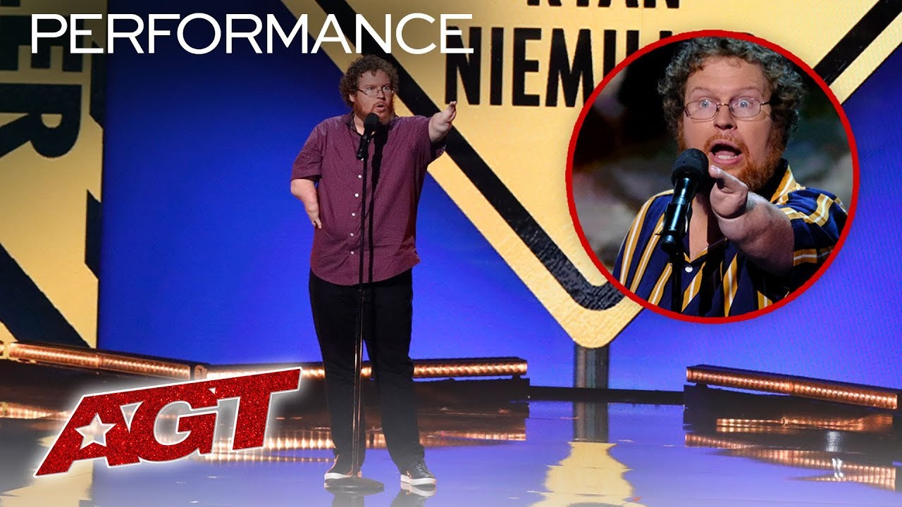 ALL of Ryan Niemiller's HILARIOUS Stand Up Sets On AGT - America's Got Talent 2019 thumbnail
