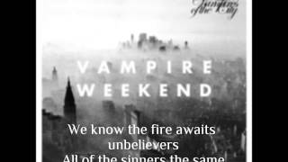 Vampire Weekend | Unbelievers