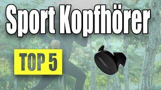 TOP 5: Bester Sport Kopfhörer 2021! Beste Kopfhörer zum Laufen und Sport machen!