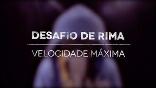 Fabio Brazza & Ítalo Beatbox - Desafio De Rima - Velocidade Máxima