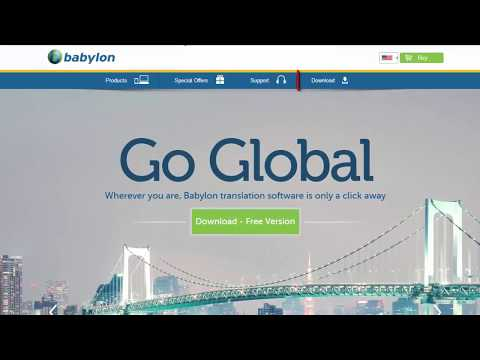 Babylon Pro NG 11 0 0 29 how to download and install