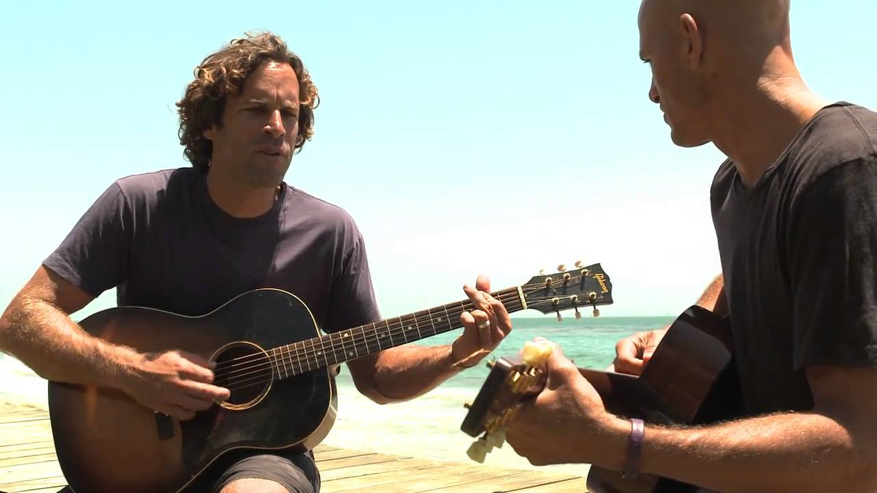 Jack Johnson and Kelly Slater performing Home - from the album From Here To Now To You