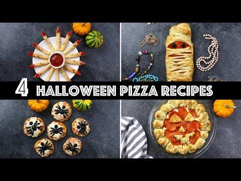 4 Spooky Halloween Pizza Ideas