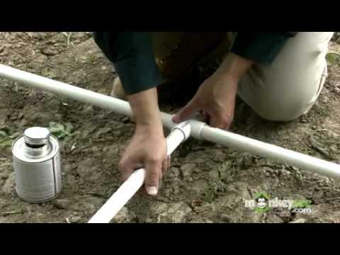 Κατασκευάζοτας το πλαίσιο ενός θερμοκηπίου