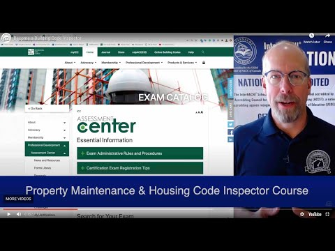 Become a Certified Building Code Inspector - YouTube