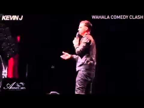 Funny comedian mimics Nigerian accent. Right on point