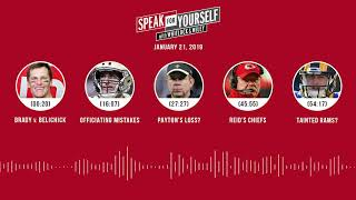 SPEAK FOR YOURSELF Audio Podcast (1.21.19) with Marcellus Wiley, Jason Whitlock | SPEAK FOR YOURSELF
