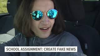 Klein ISD responds to teacher's 'fake news' assignment that led to viral post