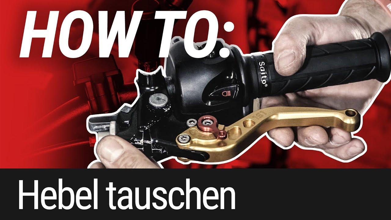 HOW TO: Kupplungs- und Bremshebel tauschen