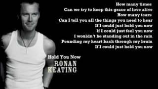Ronan Keating - Hold You Now ( + Lyrics 2003)