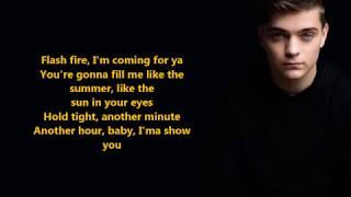 Martin Garrix & Justin Mylo- Burn Out ft. Dewain Whitmore (Lyrics) {HeyLyrics}