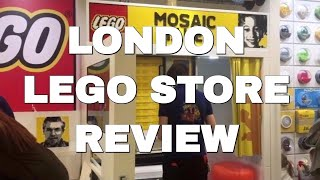 ► Tour Of London's LEGO Store In Leicester Square   Mosaic Maker, Pick & Build, Store Review