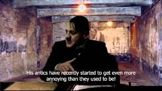 Fegelein transports Hitler to Auschwitz