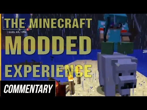 [Blind Reaction] The Minecraft Modded Experience