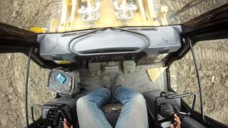 Cat 973C Inside Cab