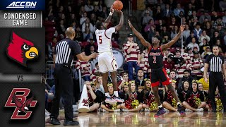 Louisville vs. Boston College Condensed Game | 2019-20 ACC Men's Basketball