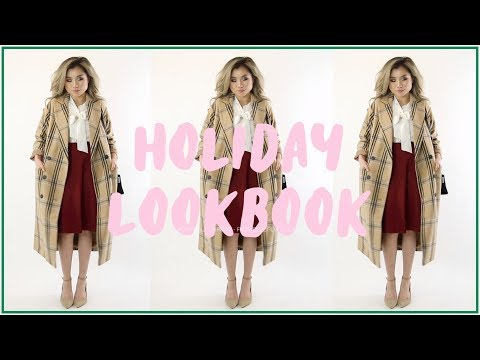 HOLIDAY Outfit Ideas! | Holiday Party Fashion Lookbook | Miss Louie