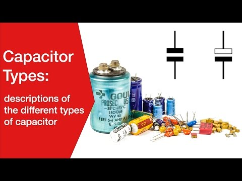 Capacitor Types: Electrolytic, Ceramic, Tantalum, Plastic Film Mp3