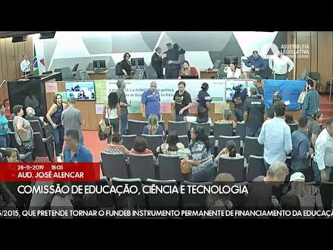 PEC 015/15 - Assembleia Legislativa de Minas Gerais - Fundeb - 28/11/19