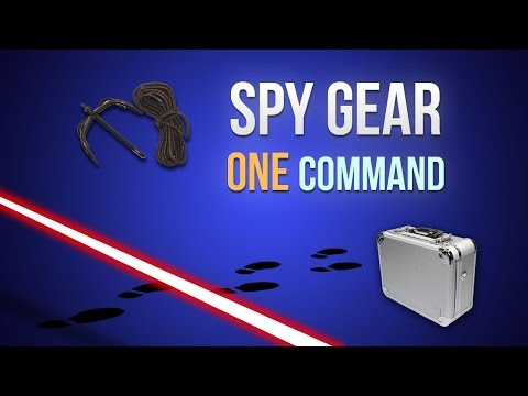 Spy Gear One Command Creations
