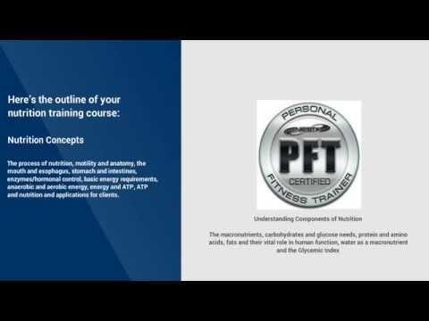 NESTA NUTRITION COACH CERTIFICATION PROGRAM - YouTube