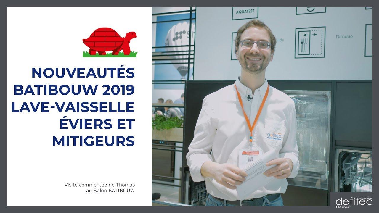 BATIBOUW 2019 - Nouveautés en lave-vaisselle & évier de cuisine - Visite commentée du salon - Ep.2