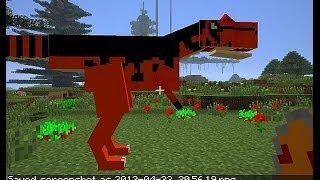 Смотреть онлайн Прохождение мода Майнкрафт с Динозаврами