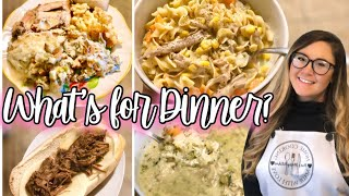 WHAT'S FOR DINNER? EASY FAMILY MEAL IDEAS + RECIPES