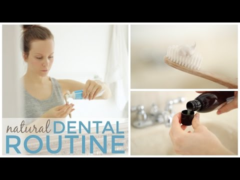 My Natural Dental Routine | Products + Food for Healthy Teeth