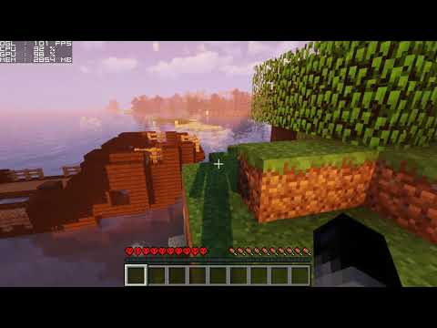 Minecraft Shaders FPS Test | i5-7500 & GTX 1050 Ti