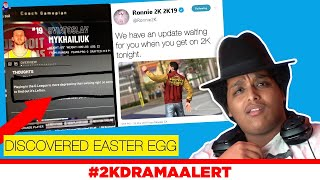 2K PLAYER DISCOVERS WEIRD EASTER EGG, NEW UPDATE SECRETLY RELEASED LAST NIGHT #2KDramaAlert