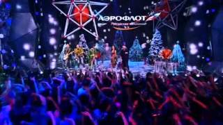 Дискотека Авария Новогодняя ночь 2013 на Первом