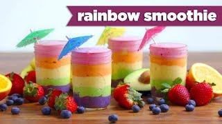 Sehat dengan Minuman Segar Rainbow Smoothies