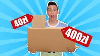 MYSTERY BOX ZA 400ZŁ VS ZA 40ZŁ!