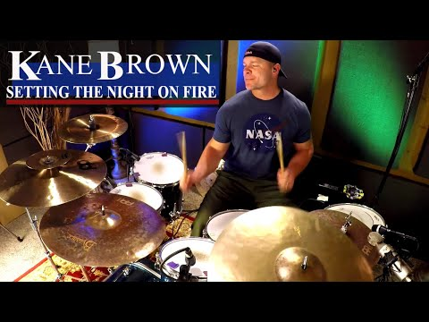 Kane Brown Setting The Night On Fire Drum Cover (High Quality Audio)⚫⚫⚫