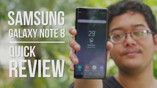 Galaxy Note 8 Quick Review