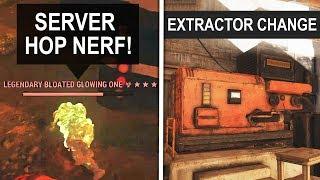 Fallout 76 SECRET UPDATES - Server Hopping Nerf, Workshops & More! (Secret Changes)