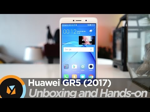 Huawei GR5 2017 Unboxing and Hands-on (vs. Huawei GR5 2016)