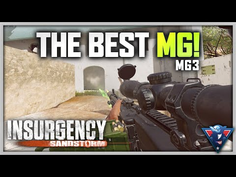 THE BEST MG! | Insurgency: Sandstorm Gameplay (Bad Loadouts - MG3)