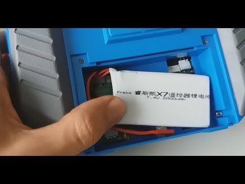 7.4V 2S 2000mAh 8C Lipo Battery TESTED with Taranis QX7 from Banggood