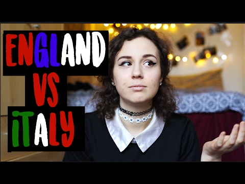 ITALY vs ENGLAND - Culture | doyouknowellie